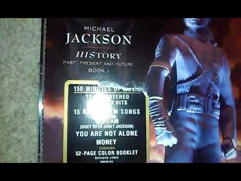 Michael Jackson HIStory Album Review By TonyT