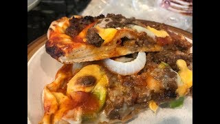 # 11 Beef & Cheese Pizza Sandwich