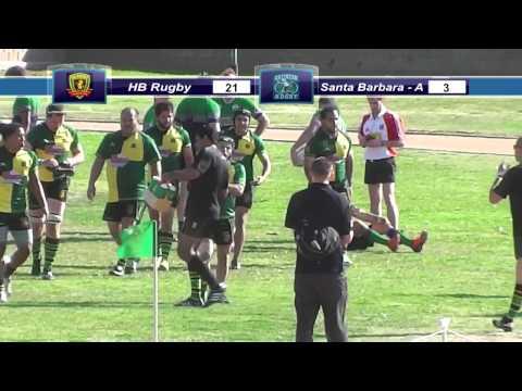 HB Rugby Vs. Santa Barbara Grunions - 2/8/14