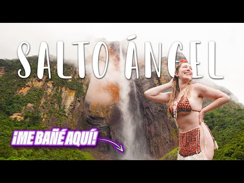 CONOCIENDO EL SALTO ÁNGEL 😱 La caída de agua más alta del mundo l ANGEL FALLS TOUR   GLADYS SEARA
