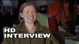 "World War Z: Mireille Enos - ""Karen Lane"" On Set Interview"