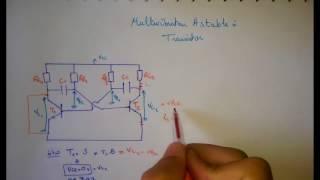 Multivibrateur Astable à Transistor 'Partie 1'