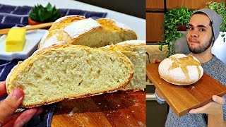 Pão Caseiro tipo Italiano feito na Panela