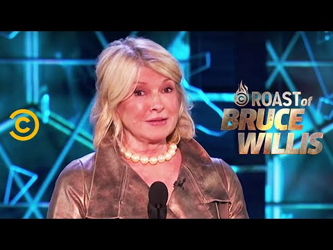 Martha Stewart Puts the Dais in Its Place - Roast of Bruce Willis