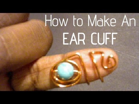 (35) Jewelry Making  How To | Ear Cuffs! Very EZ!