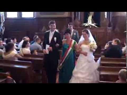 Dr. Kalmár Péter és Dr. Egyed Ágnes esküvőjének legszebb pillanatai