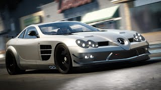 Mercedes-Benz SLR McLaren 722 Perf Spec Customization & Story Mission