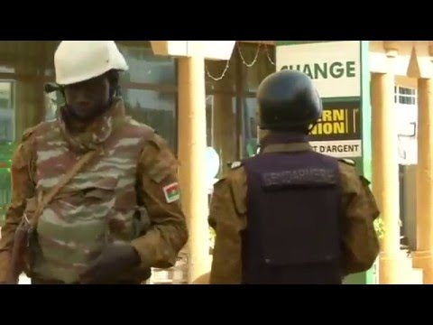 Bodies removed from Ouagadougou hotel