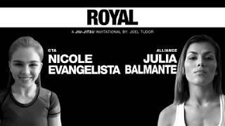 Nicole Evangelista (Caio Terra) x Julia Balmante (Cobrinha) - Match 16