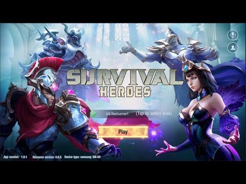 Survival Heroes Moba Battle Royale Android Apk Ios Gameplay