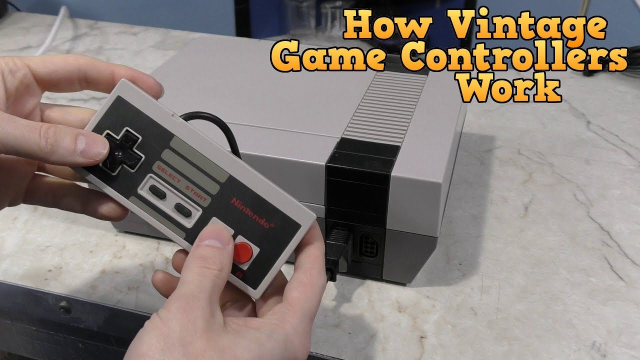 How Vintage Game Controllers Worked
