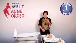 Philips Avent Anne Okulu - Yeni Doğan Bebeğin Banyosu - 2