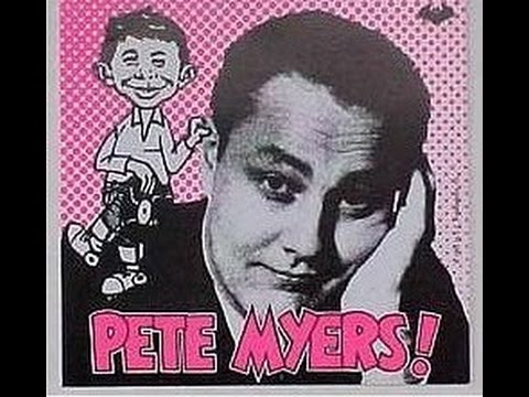 PETE MYERS AT 1010 WINS RADIO, NEW YORK CITY, 1963