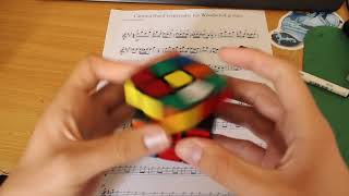 connectYoutube - Cantina Theme Played By Solving a Rubik's Cube