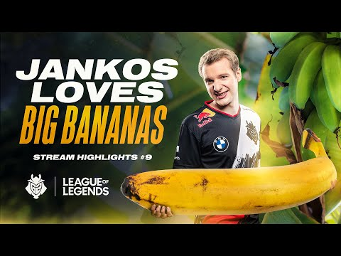 Jankos Loves Big Bananas | G2 LoL Stream Highlights #9