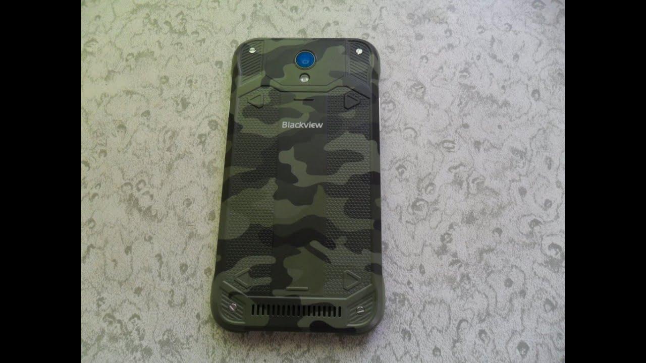 Влагозащищенный телефон Blackvive5000 внешний осмотр - YouTube