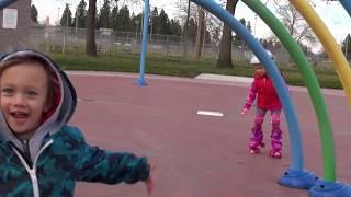 видео Детские кроссовки на колесиках – выбор роликовых кроссовок для детей