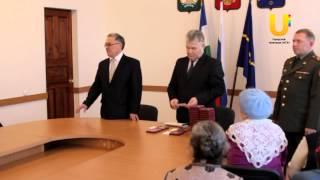 Глава города вручил медали ветеранам Великой Отечественной войны