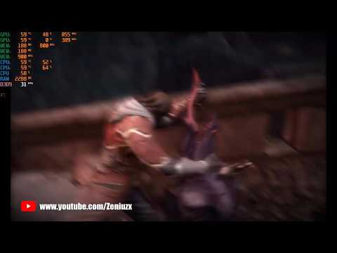 Castlevania : Lords Of Shadow   Mirror of Fate HD   AMD A10 7300   R5m230  