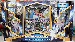 Opening A Mega Absol EX Premium Collection Box!!