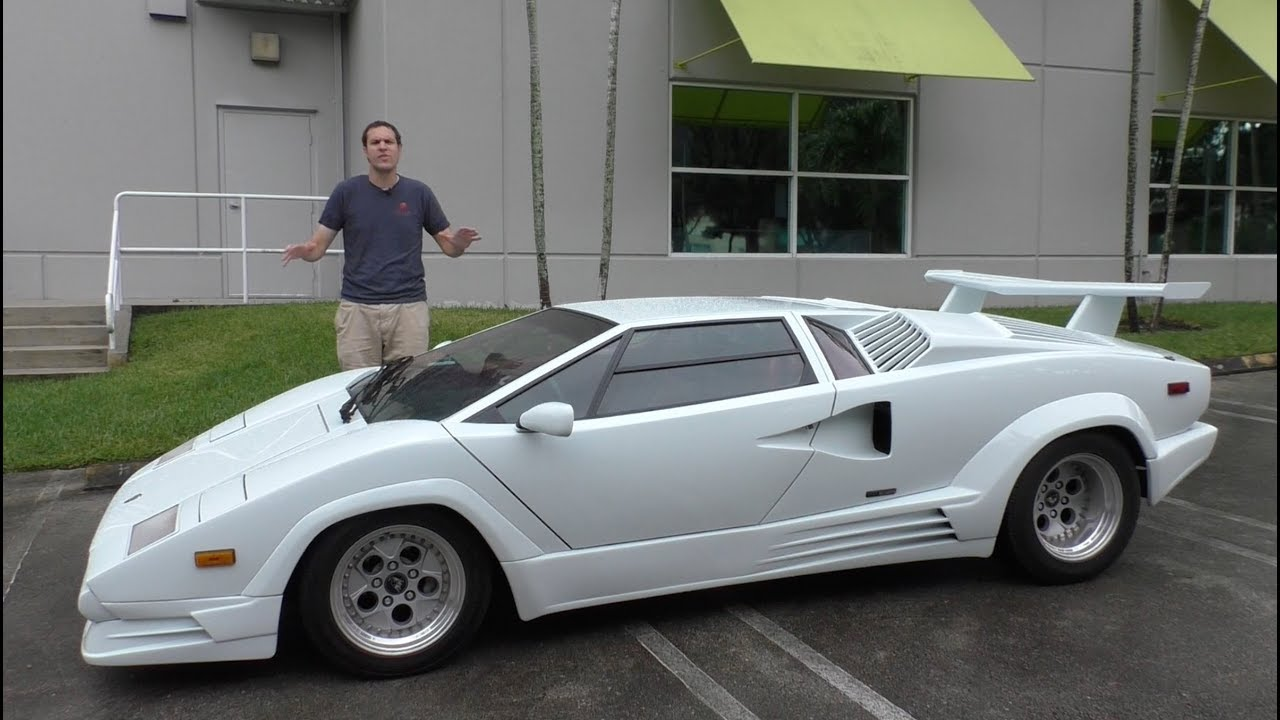 Here S Why The Lamborghini Countach Is Worth 300 000 Doovi