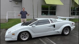 Here\'s Why the Lamborghini Countach is Worth $300,000