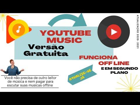 Como ouvir musicas offline no Youtube Music GRATUITO (De graça)