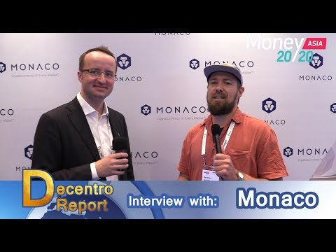 Monaco Card Interview with CEO Kris Marszalek @ Money 20/20 Asia 2018
