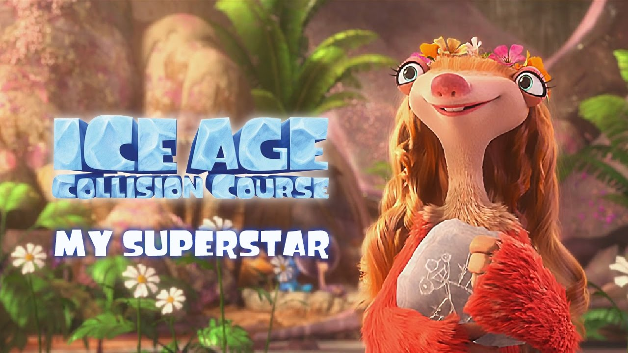 JESSIE J MY SUPERSTAR (MUSIC OF ICE AGE 5)