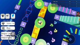 Roblox Mega Fun Obby 2 ❇ Stage 335 - 340