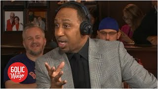 Coach Stephen A. isn't afraid of getting ejected from the All-Star Celebrity game | Golic and Wingo