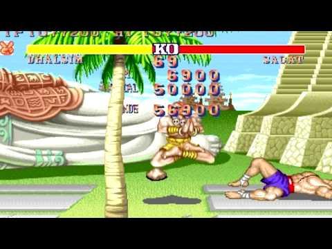 [ARCADE] Street Fighter II - The world Warrior Dhalsim All perfect HD