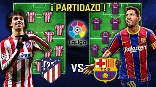 ANALISIS - Atletico de Madrid vs Barcelona - Jornada 10 de la LIGA
