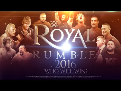 Who Should Win The WWE Royal Rumble 2016? :: Top 10 Candidates!