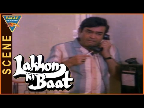 Lakhon Ki Baat Movie || Farooq Sheikh Funny Comedy Scene In Hospital || Sanjeev Kumar, Anita Raj