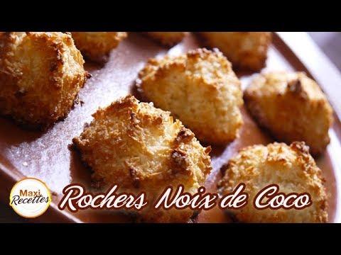 Recette Rochers Noix de Coco Facile et Rapide