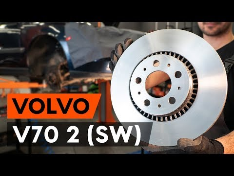 Как заменить передние тормозные диски наVOLVO V70 2 (SW)[ВИДЕОУРОК AUTODOC]