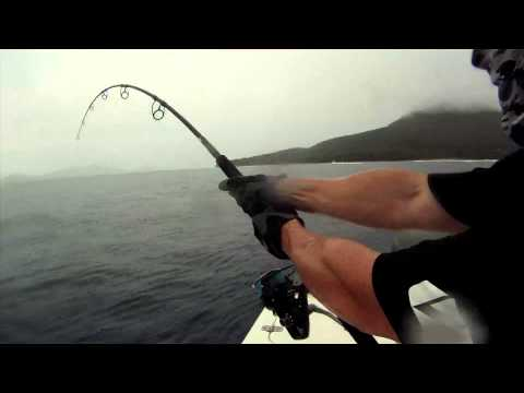 GT Popping Vanuatu - Ocean Blue Fishing Adventures