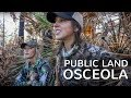I've NEVER seen a turkey do THAT   Spring Gobblers EP - 03 -