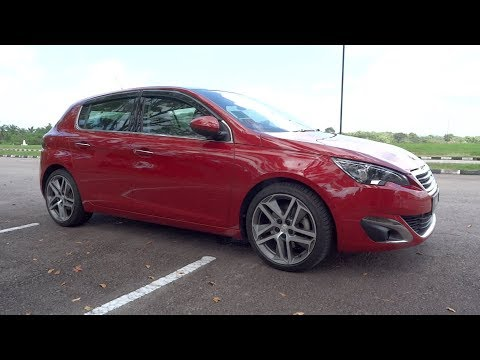 2016 Peugeot 308 THP Start-Up and Full Vehicle Tour