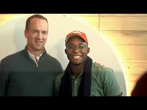 DEN ZEN: Peyton Manning Surprises Passengers at Denver International Airport