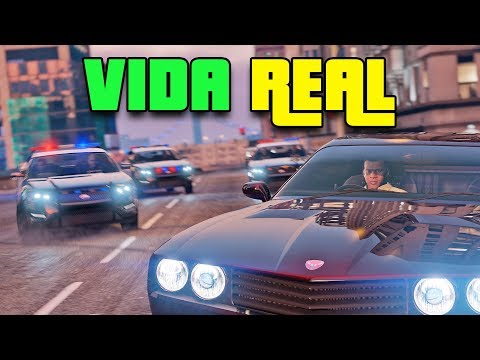 VIVA A VIDA REAL! // (GTA 5 Roleplay) // LIVE 2018