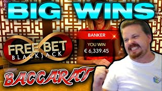 Free Bet Blackjack And Baccarat Big Wins (And One Brutal Loss)