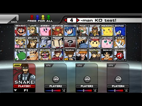 Super Smash Flash 2 V0 9 Mejorada