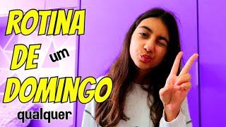 ROTINA DE DOMINGO - UM DIA INTEIRO EM CASA ! - Julia Moraes
