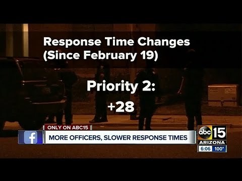 Is it taking Phoenix PD too long to respond to emergencies?