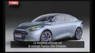 Renault Fluence ZE Concept Videos