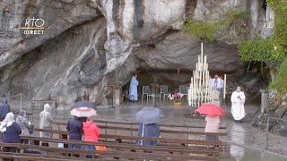Messe du 25 septembre 2020 à Lourdes