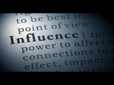September 19, 2021 - Having an Influence