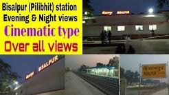 Bisalpur (Pilibhit) station over all views || Cinematic shot video